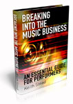 Image of the book Breaking into the Music Business.