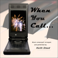 CD jacket showing a mobile phone with fireworks on the phone's screen.